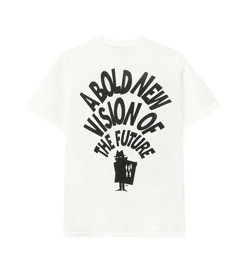 Bold New Vision S/S Tee (White)