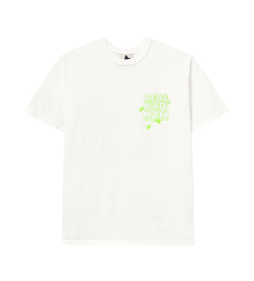 Asshole S/S Tee (White)