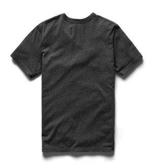 Ringspun Jersey S/S Tee (Heather Charcoal)