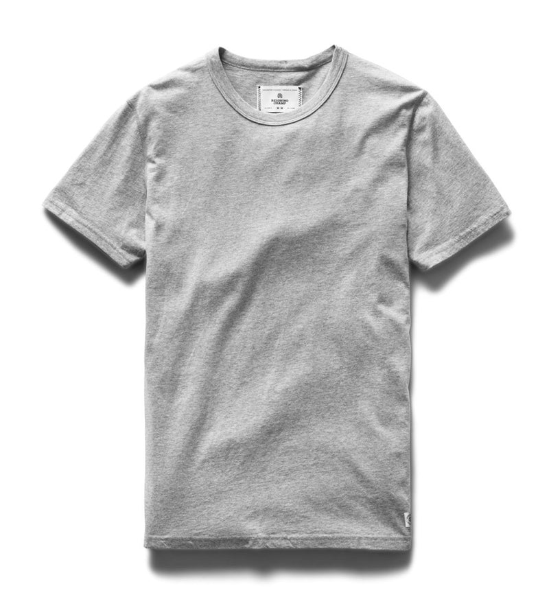 Ringspun Jersey S/S Tee (Heather Grey)