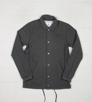 Midweight Terry Coach's Jacket (Heather Charcoal)