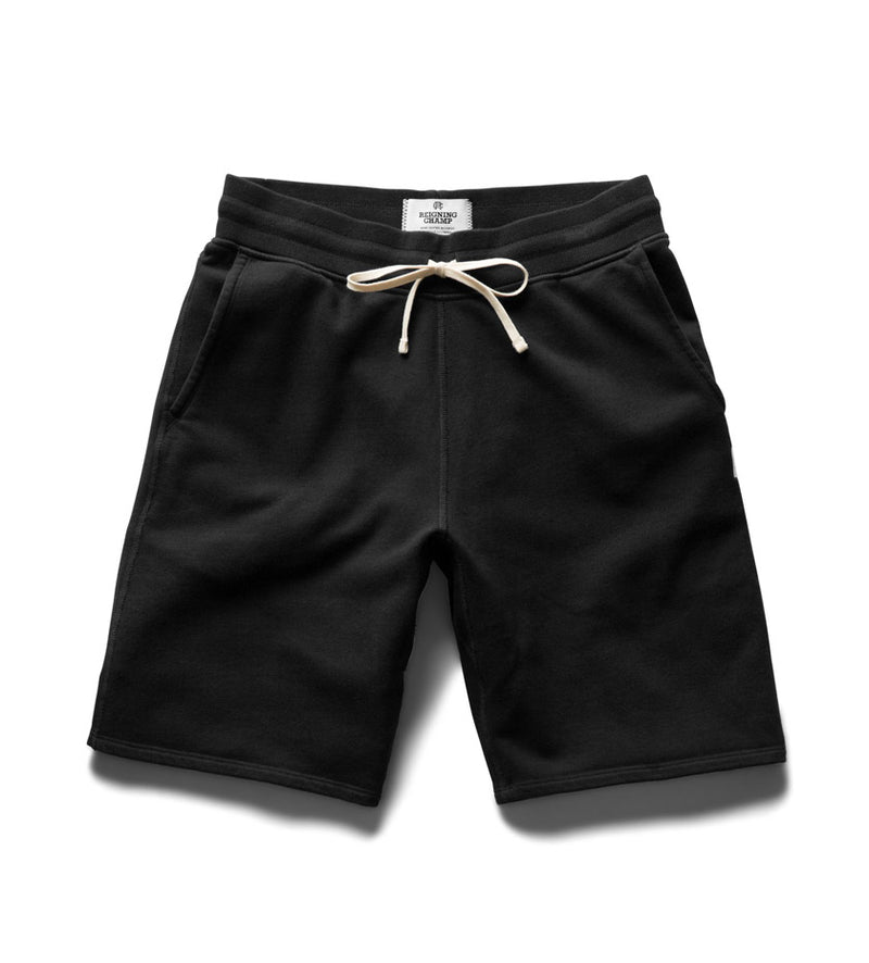 Midweight Terry Sweatshort (Black)