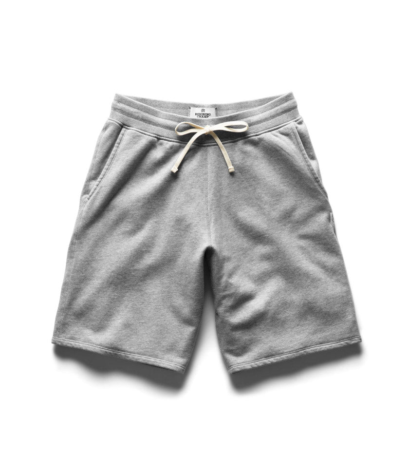 Midweight Terry Sweatshort (Heather Grey)