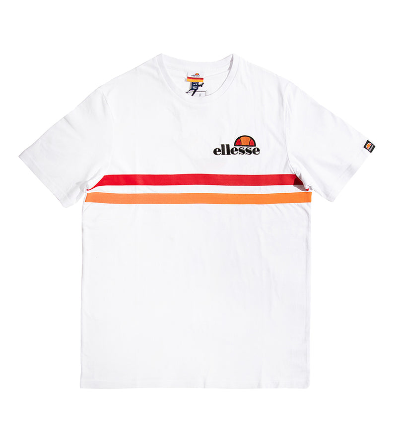 Colloseum Striped Tee (White)