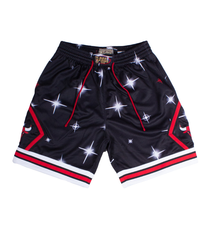 Chicago Bulls Airbrush Knit Short (Black)