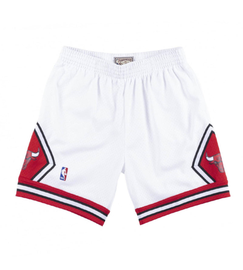 Chicago Bulls Swingman Shorts (White)