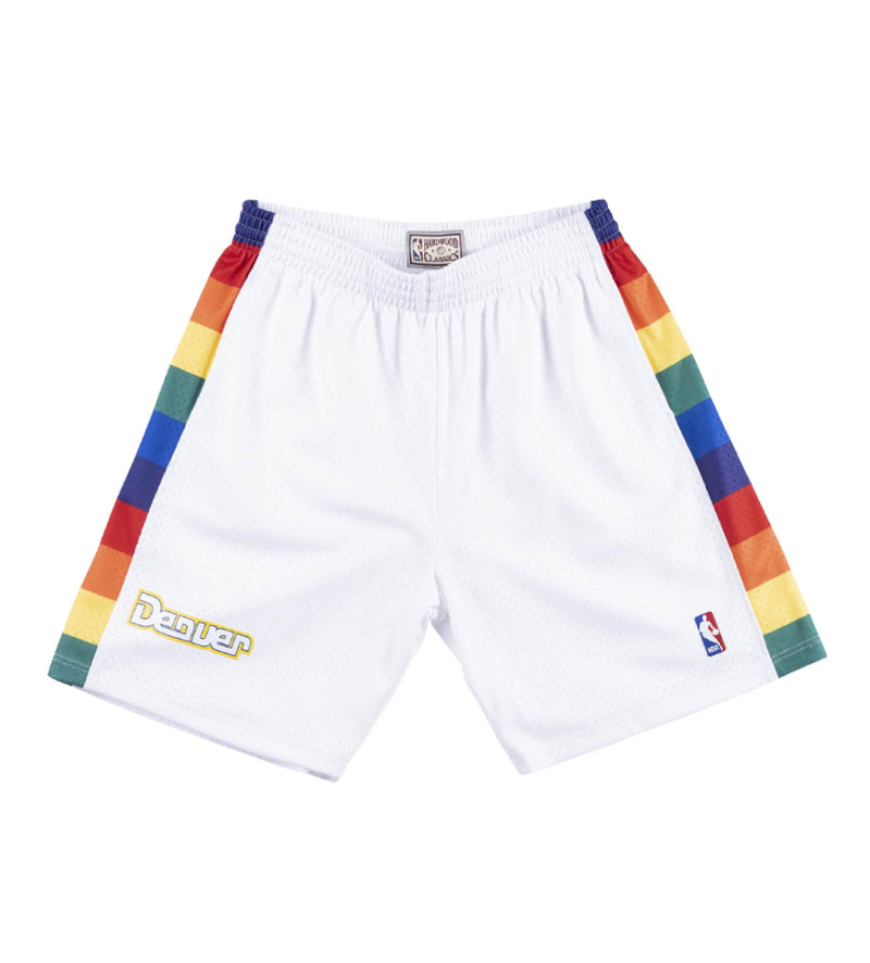 Denver Nuggets 1991-92 Swingman Shorts (White)