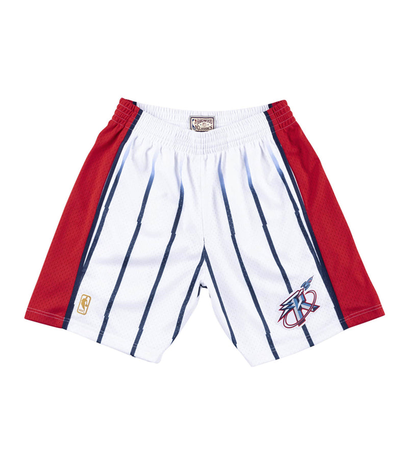 Houston Rockets Swingman Jersey Shorts (White)
