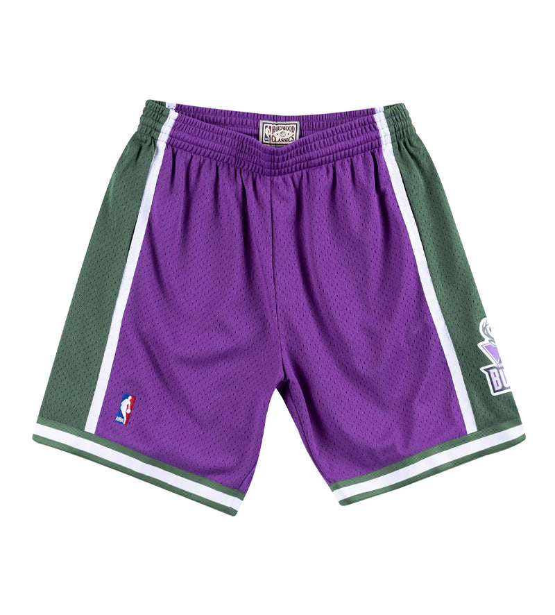 Milwaukee Bucks '00-'01 Swingman Shorts (Green / Purple)