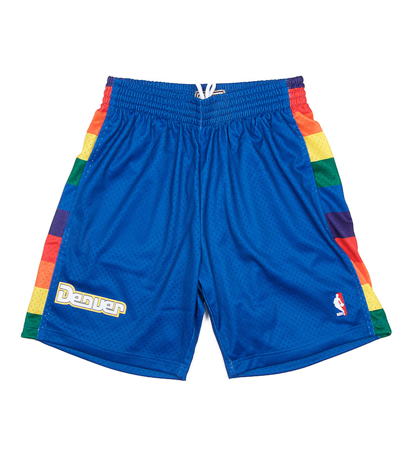 Nuggets NBA Swingman Road Shorts (Royal)