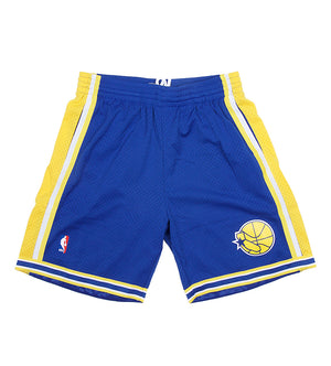 Golden State Warriors NBA Swingman Road Shorts (Royal)