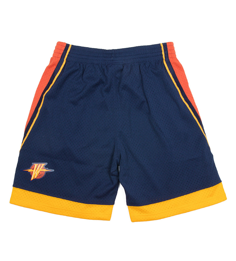 Golden State Warriors NBA Swingman Shorts (Navy)