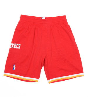 Rockets NBA Swingman Road Shorts (Scarlet)