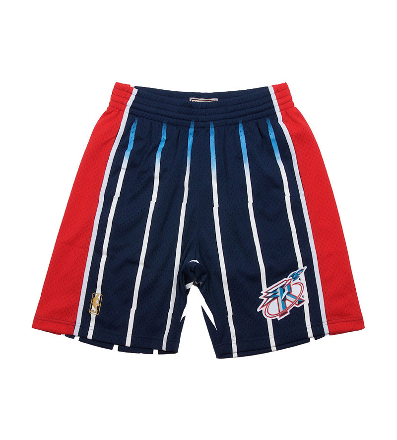 Rockets NBA Swingman Road Shorts (Navy)