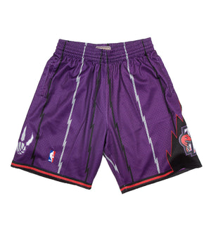 Raptors NBA Swingman Road Shorts (Purple)