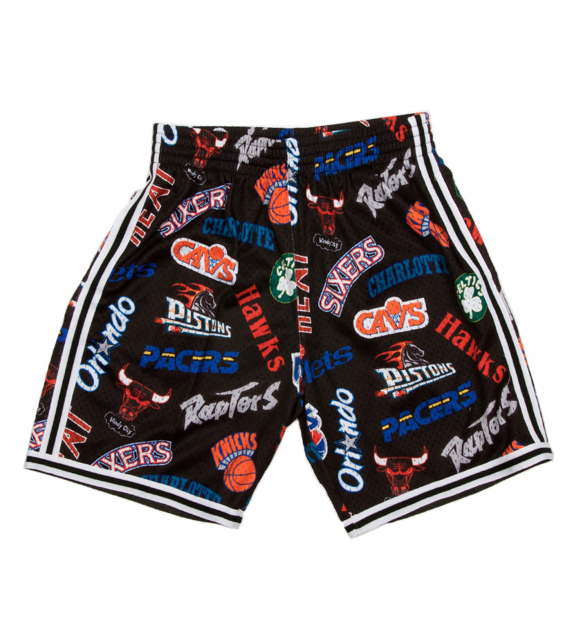 All-Over Eastern Swingman Shorts (Black)