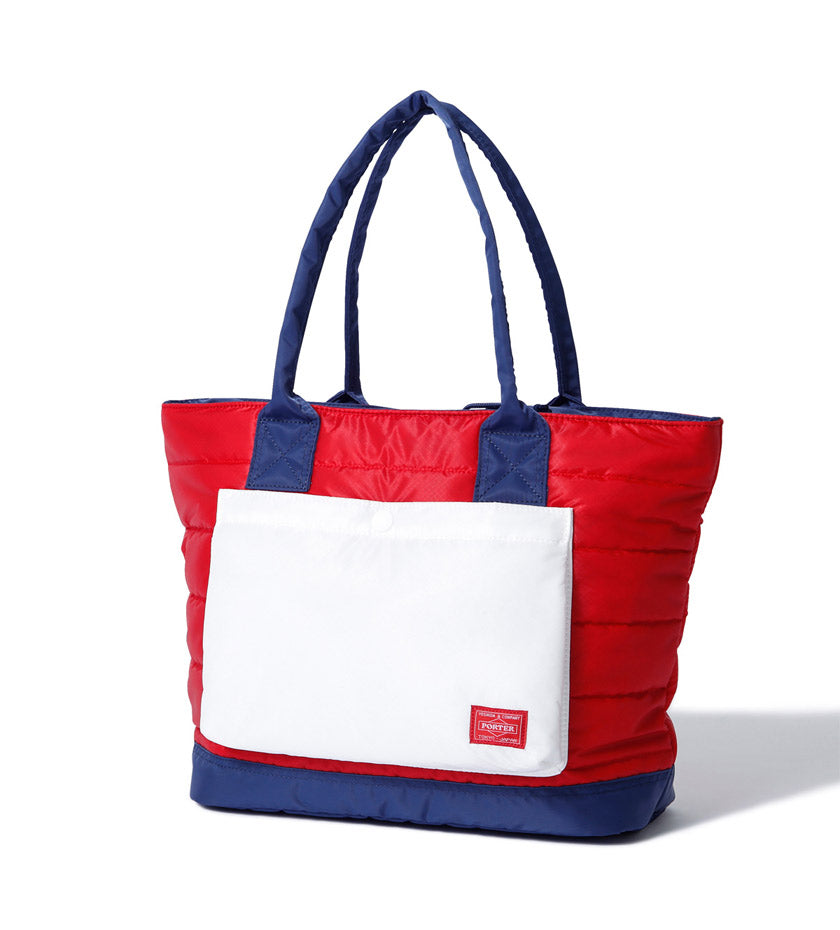 RUKA Tote Bag (Red/Navy)