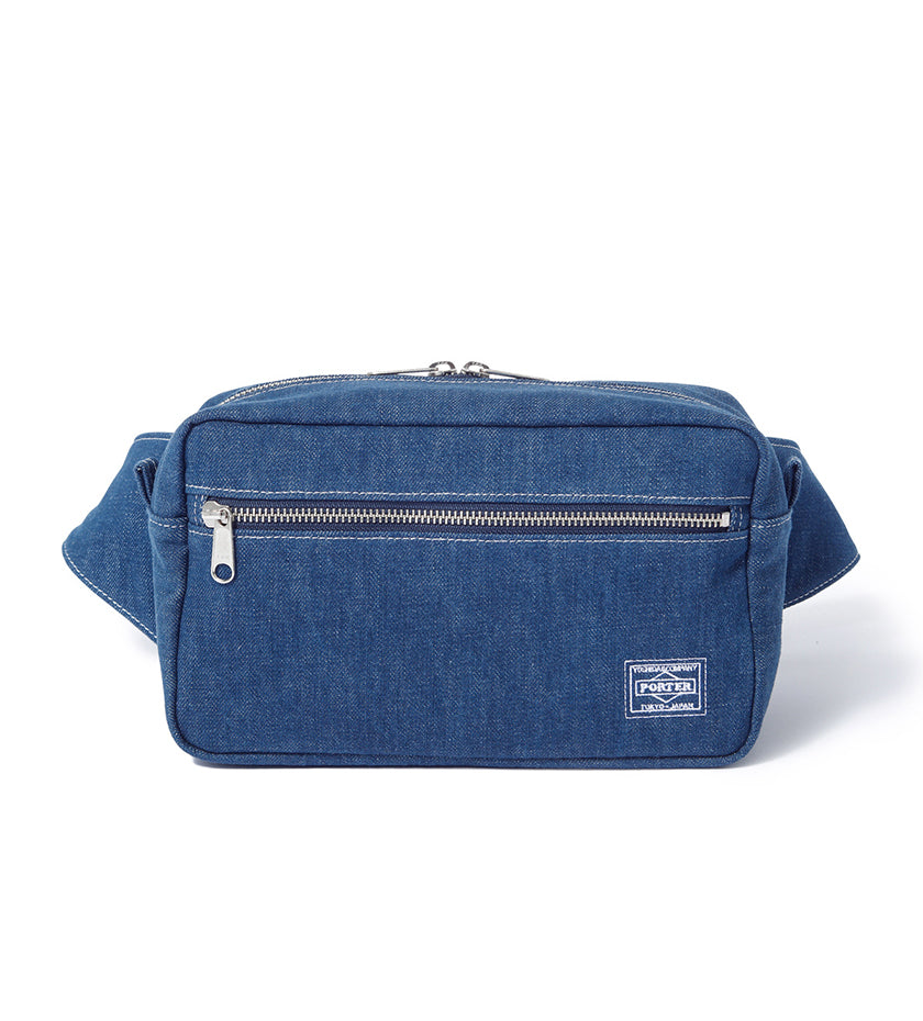 Denim Waist Bag (Indigo)