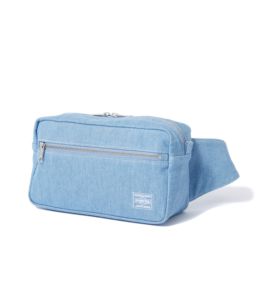 Denim Waist Bag (Light Blue)