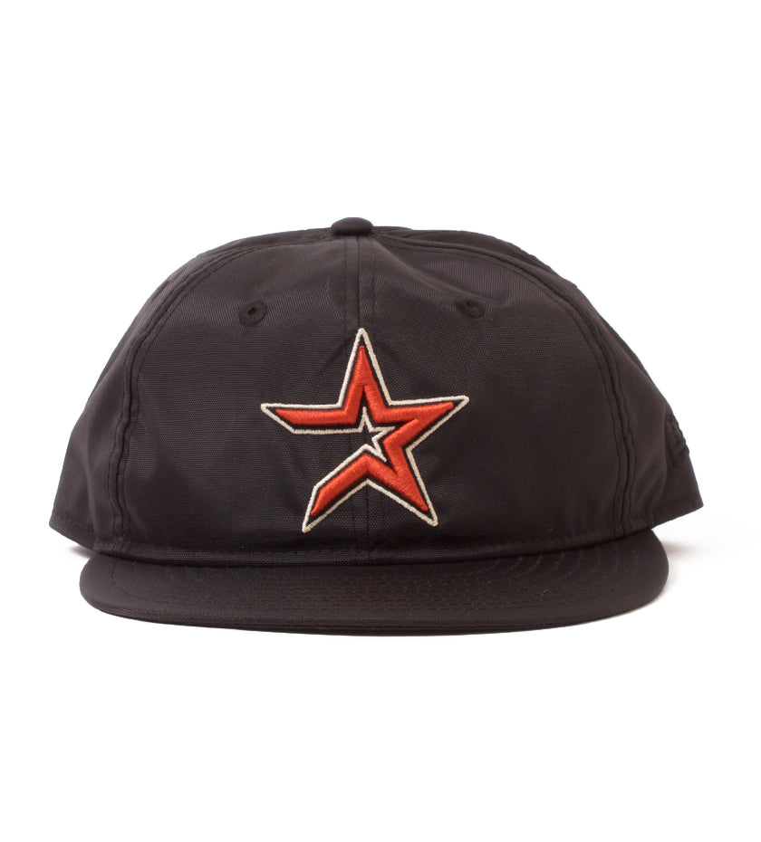 Proper x New Era Houston Astros 2000 Logo 9Fifty Strapback (Black Cordura)