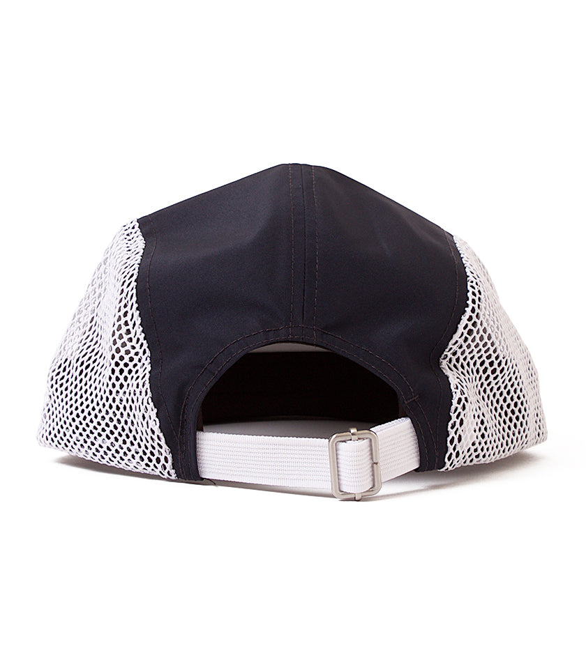 Proper x New Era 5-Panel Mesh Camper (Navy / White)