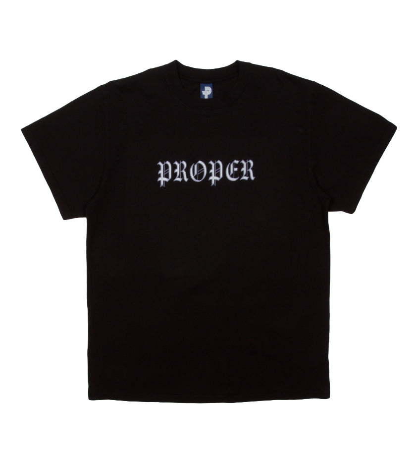 Chrome Tee (Black)