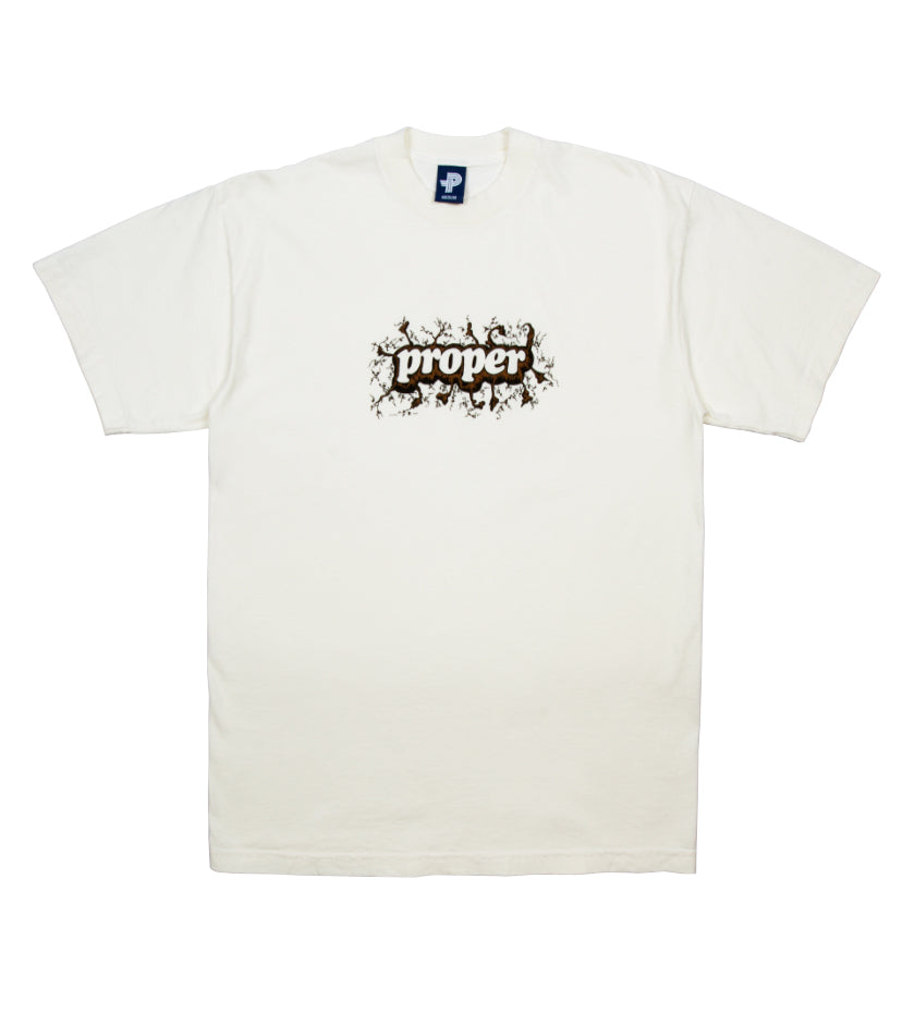 Earth Day Staple Logo Tee (Cream)