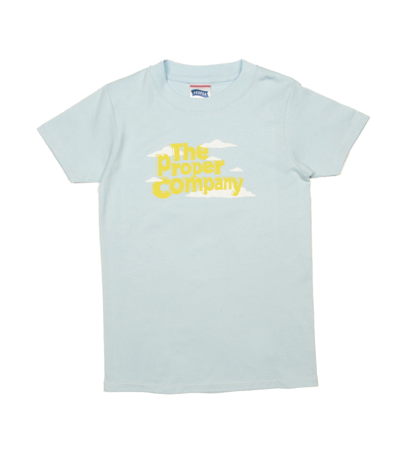 Proper Company Kids Tee (Light Blue)