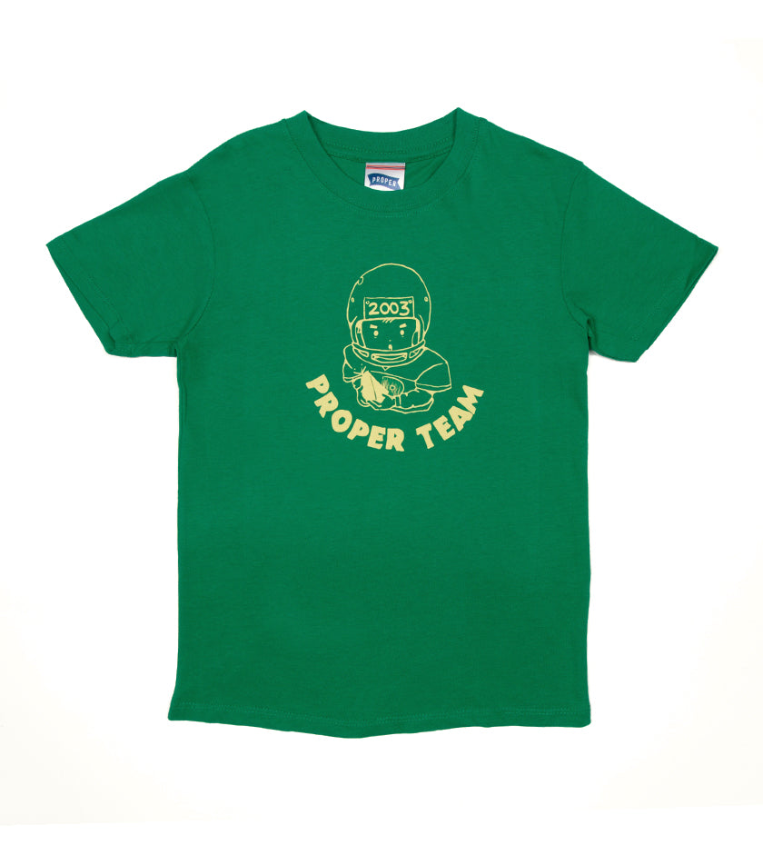 Team Player Kids Tee (Green)