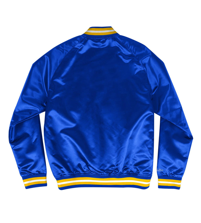 LA Rams Lightweight Satin Jacket (Navy)