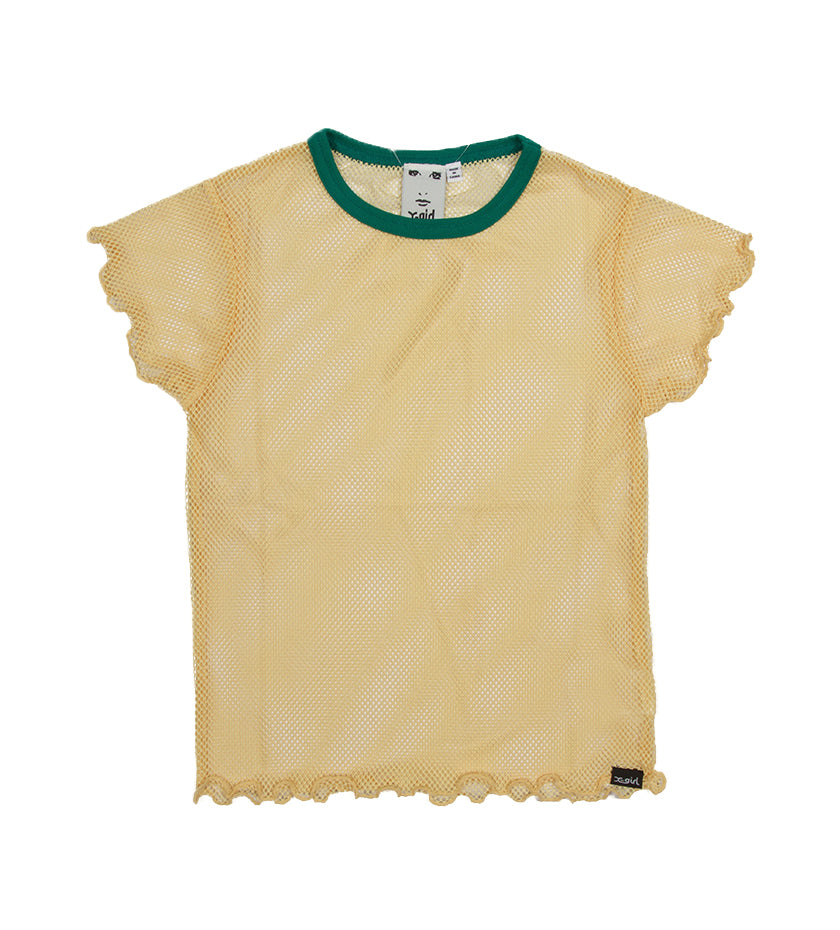 Mesh Baby Top (Yellow)