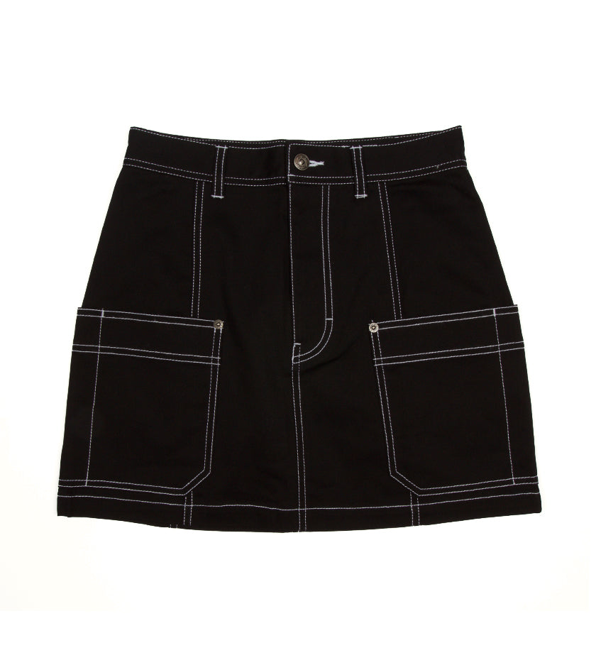 Work Mini Skirt (Black)