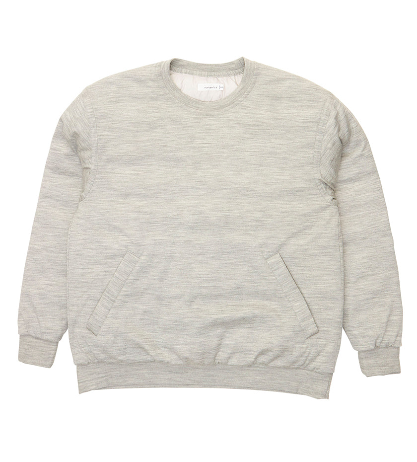 Down Sweater (Heather Grey)