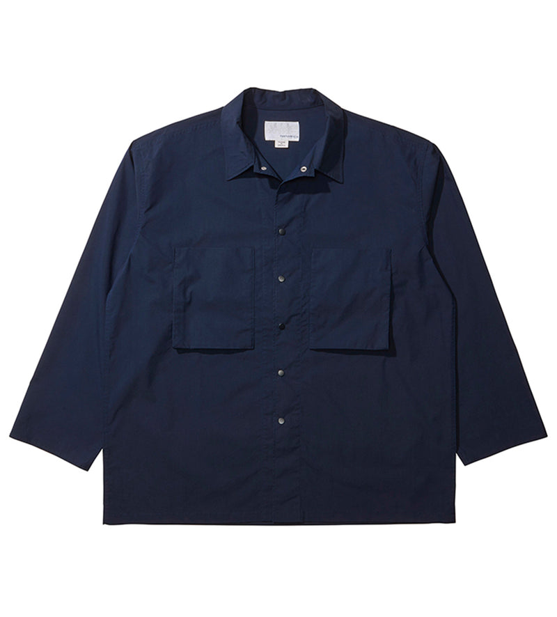 Shirt Jacket (Navy)