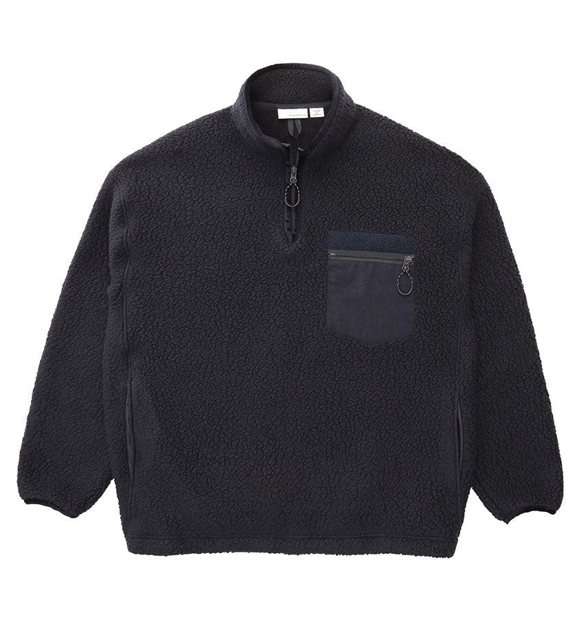 Fleece Pullover (Navy)