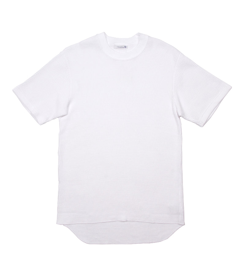 Crew Neck H/S Thermal Tee (White)