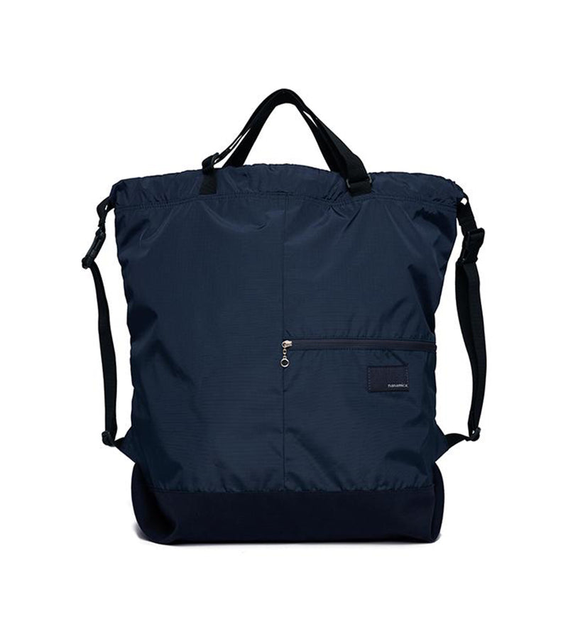 nanamican 2-Way Shoulder Bag (Navy)