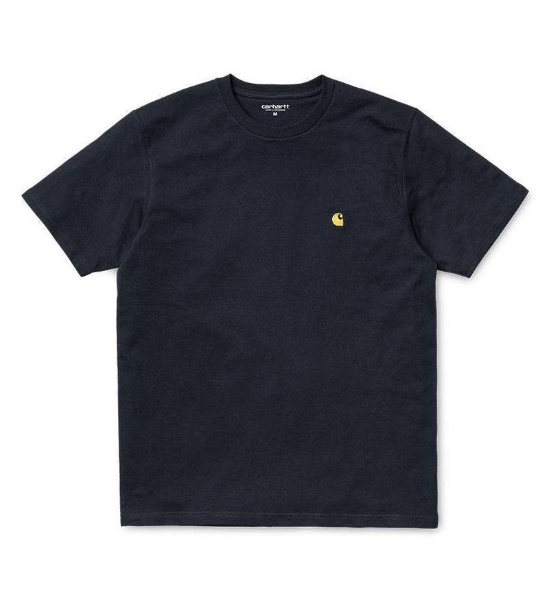 Chase T-Shirt (Dark Navy / Gold)