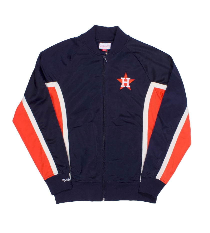 Houston Astros Championship Game Track Jacket (Navy / Orange)