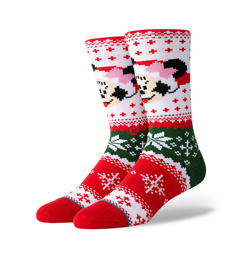 Minnie Claus Socks (Multi)