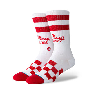 Pizza Planet Socks (Red)