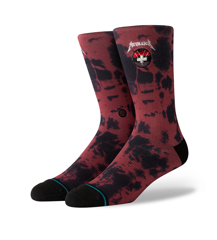 Master Of Puppets Socks (Red)