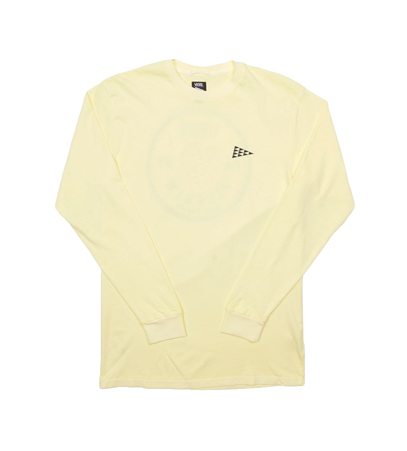 Vans x Pilgrim Surf + Supply Apple L/S Tee (Double Cream)
