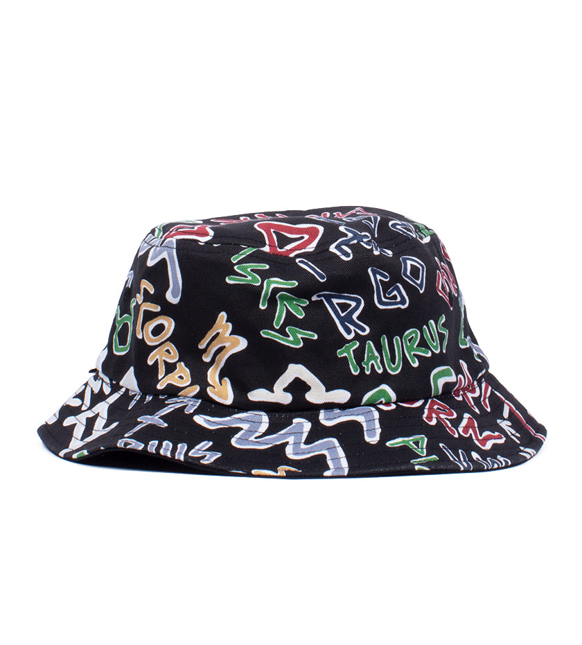 Vault OG Zodiac Bucket Hat (Black)