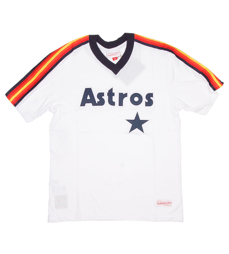 Astros MLB Overtime Win V-Neck Tee (White)