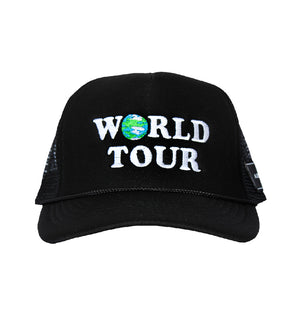 World Tour Hat (Black)
