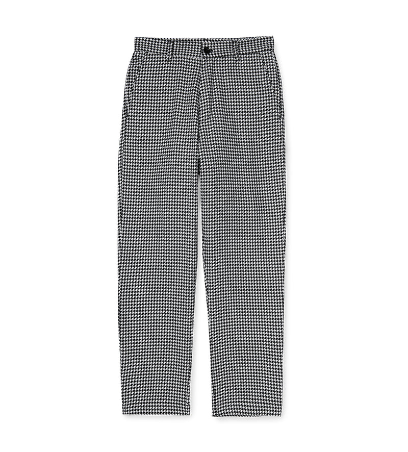 Women's Norvell Check Pant (White)
