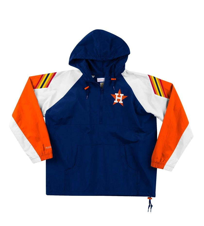 Houston Astros Half-Zip Anorak (Navy)