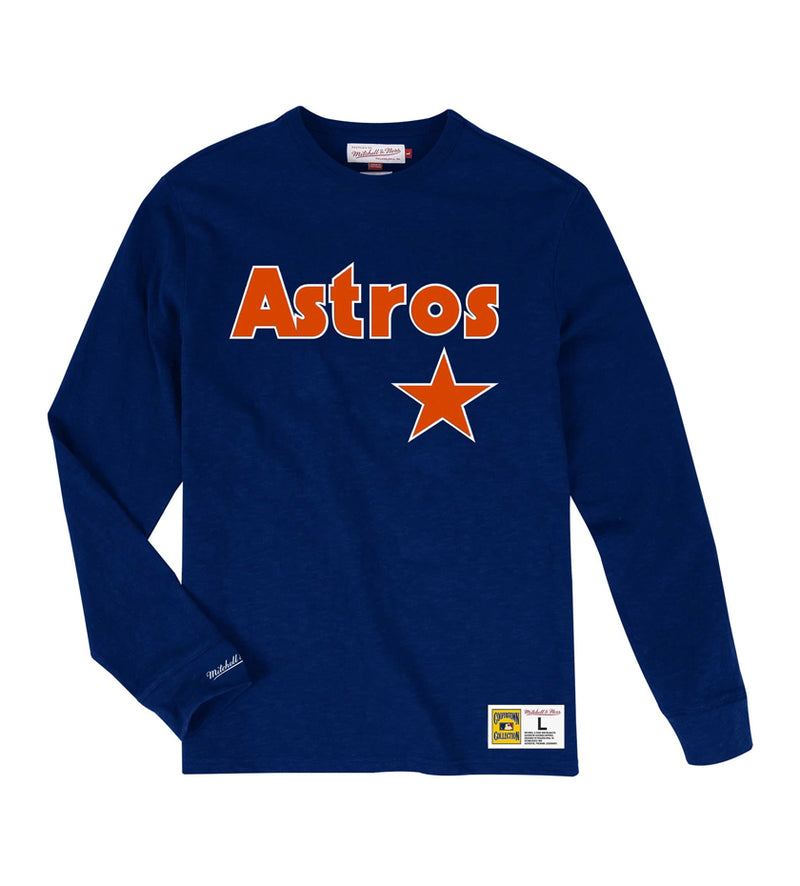 Houston Astros Slub Long Sleeve (Navy)