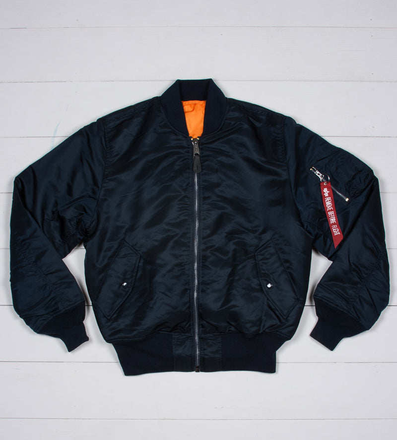 Alpha MA-1 Flight Jacket (Replica Blue)